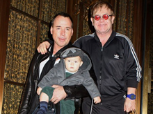David Furnish e Elton John: