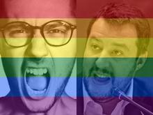 Salvini+contro+SanremoArcobaleno.+Andrea+Pinna%3A+provo+vergogna+per+lui
