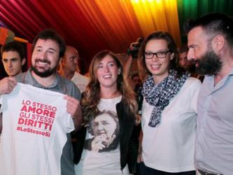 La ministra al Padova Pride Village: unioni civili, ora non ci fermano