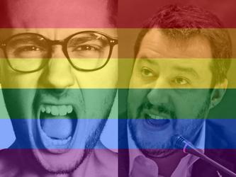 Salvini contro SanremoArcobaleno. Andrea Pinna: provo vergogna per lui