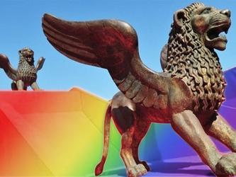 Venise n'est pas homophobe: vedettes du cinéma, soyez arc-en-ciel!