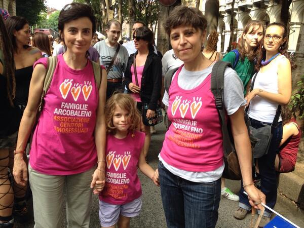 Famiglie Arcobaleno al Pride