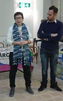 Tiziana Biondi e Armando Caravini