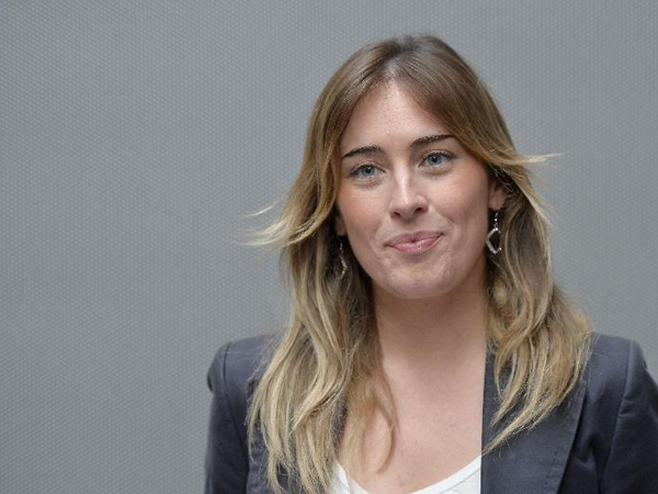La ministra delle Riforme, Maria Elena Boschi
