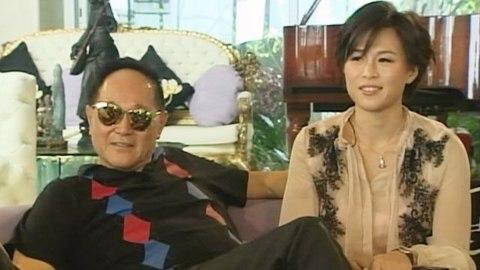 Gigi Chao con il padre Cecil