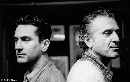 Robert De Niro con il padre
