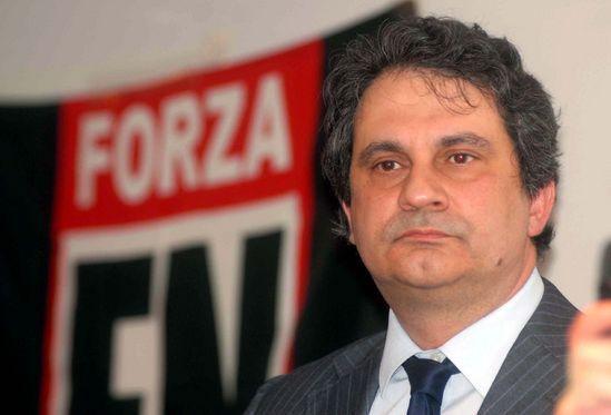 Roberto Fiore, segretario di Forza Nuova