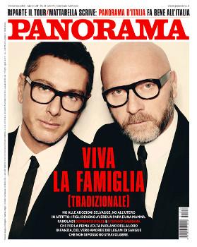 La copertina del numero di Panorama con l'inervista che ha scatenato le polemiche