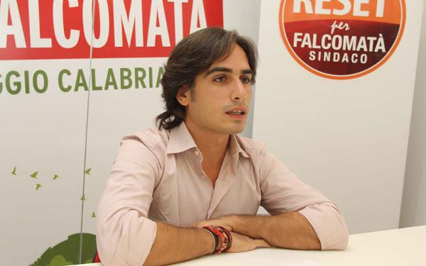 Giuseppe Falcomatà (Pd), sindaco di Reggio Calabria