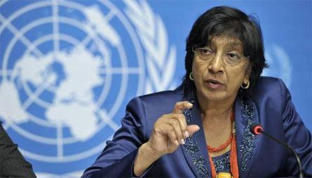 L'Alto Commissario per i Diritti Umani Navi Pillay