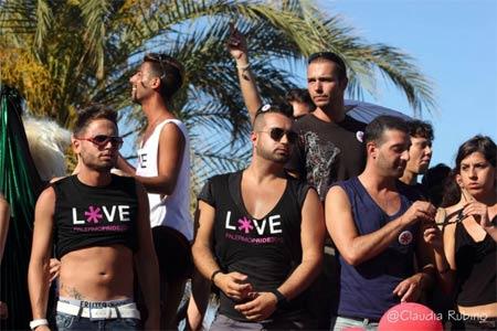 Un momento del Palermo Pride 2012
