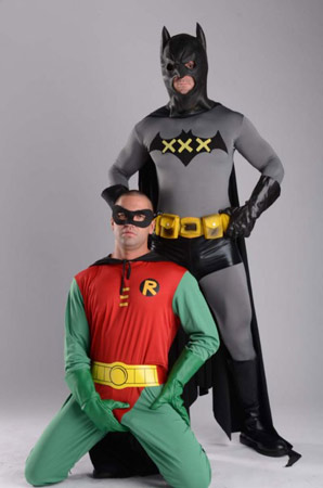 gay Batman e Robin porno