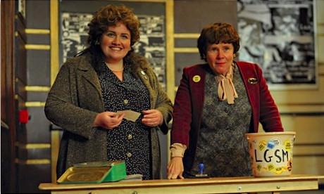 Jessica Gunning (a sinistra) nei panni di Siân James nel film Pride