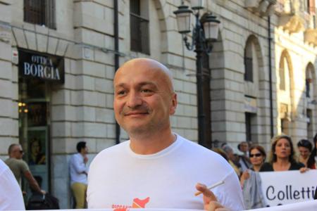 Il presidente di Arcigay Flavio Romani