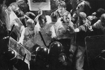 Un'immagine dei moti di Stonewall
