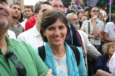 Titti De Simone, presidente del Comitato Palermo Pride