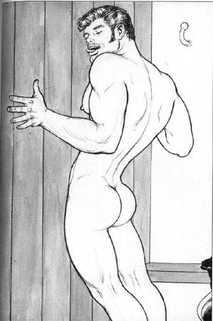 disegno del fumetto porno