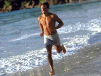 Corsa sulla spiaggia gay