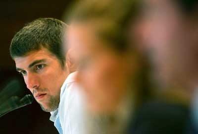 Il gigantesco Michael Phelps