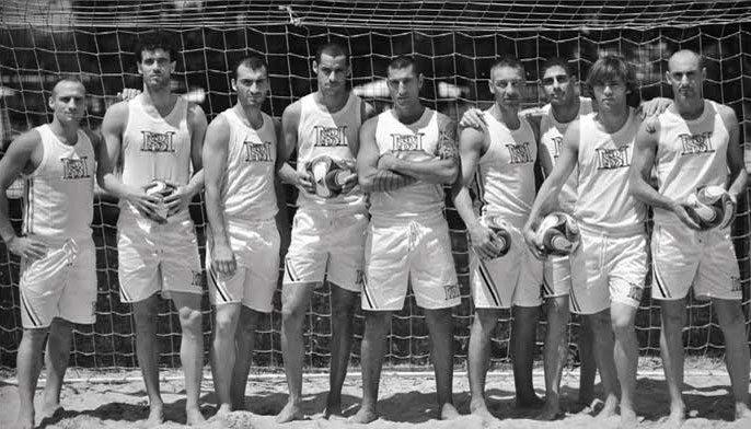 La squadra fashion di Beach Soccer