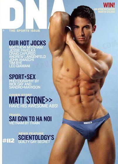Matt è il cover boy di DNA