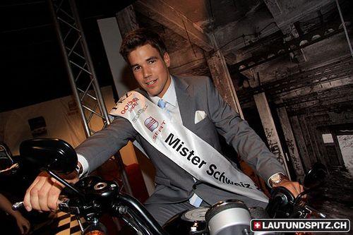 André è Mr Svizzera 2009