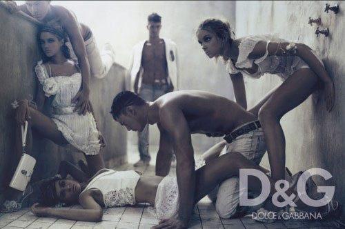 Le pubblicità di Dolce e Gabbana