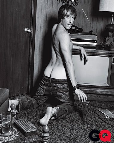 Bruno a nudo per GQ