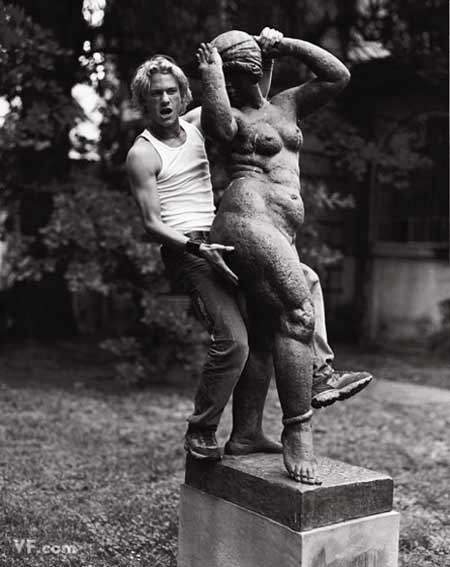 Gli ultimi scatti di Heath Ledger
