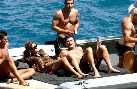 Vip e tanta bellezza a bordo della D&G boat