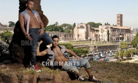 Andy e Ben: statuari australiani a Roma
