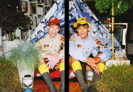 In campeggio con Ryan e Patrick