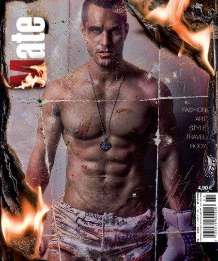 Marco Dapper dopo il nudo posa per i gay