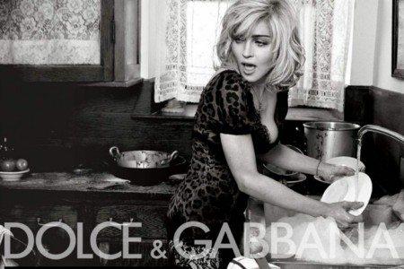 Tutti gli scatti di Madonna per Dolce e Gabbana