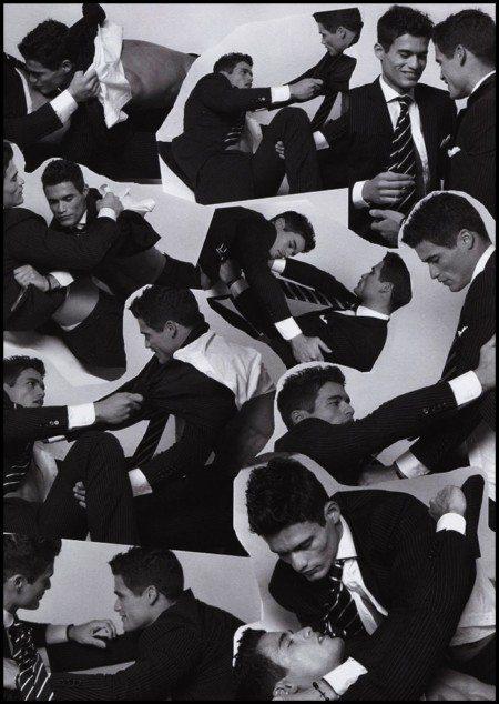 Juan e Cesar, i provocanti gemelli di Vogue Italia