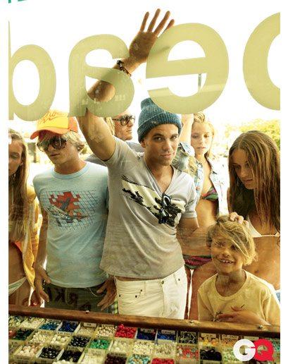 Il cattivo ragazzo di Glee si mostra su GQ