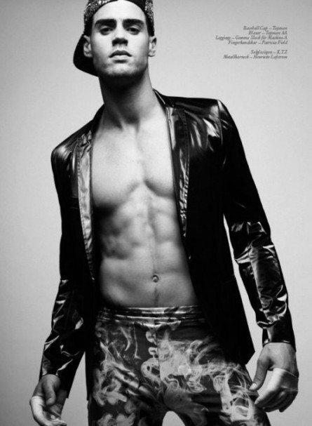 Dorian, ritratto a Chad in black & White