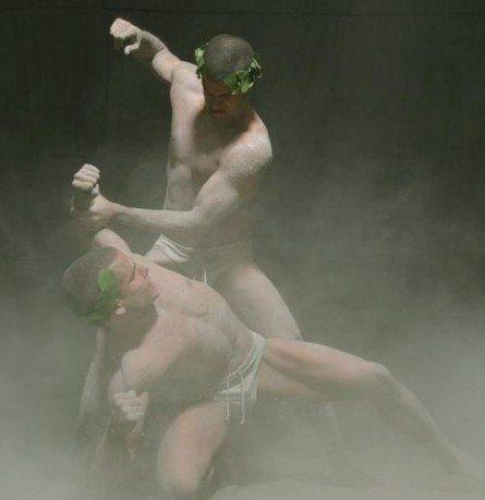 James e Ben, lottatori romani di Oppedisano
