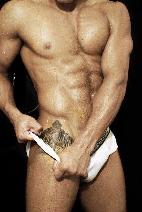 Rodrigo Guilherme, l'ex lottatore diventato modello