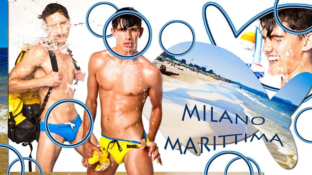 Cartoline dall'italia coi modelli di Flamboyant