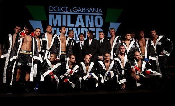 I pugili di Dolce & Gabbana sfideranno il mondo