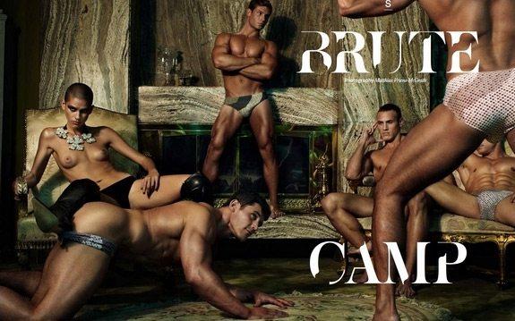 Uno contro tutti: la hot gang bang di Brute Camp