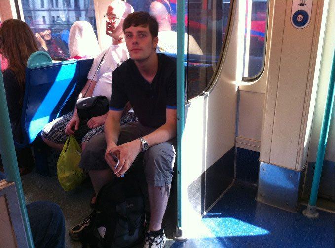 TubeCrush: i più bei ragazzi visti sulla metro in un blog