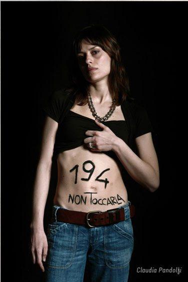 Legge sull'aborto? Non toccarla