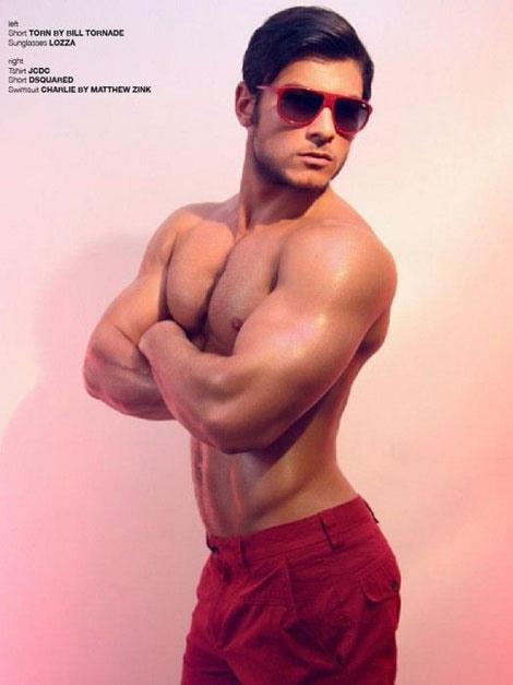 Daniel Garofali supersexy per Lash Magazine