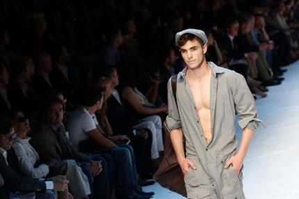 David Gandy (e non solo) a petto nudo per D&G