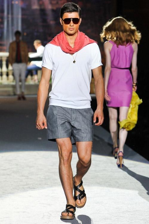 Ecco l'uomo di DSquared per la primavera/estate 2012