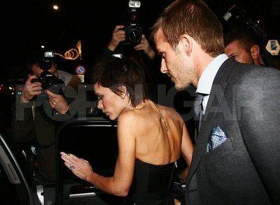 Le foto di Beckham e Victoria a Milano