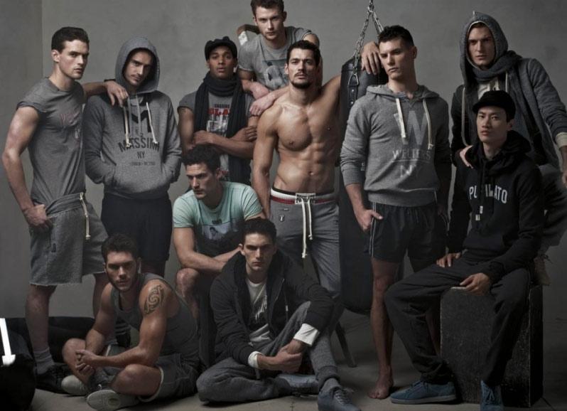 David Gandy e tutti i suoi uomini ancora per D&G