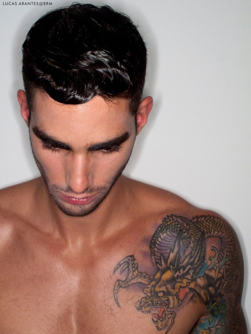 Lucas, il calciatore brasiliano diventato modello DSquared